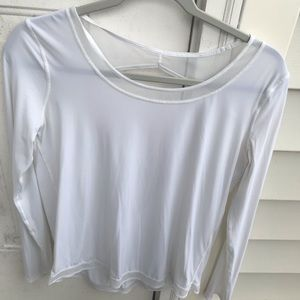 Lululemon white long sleeve